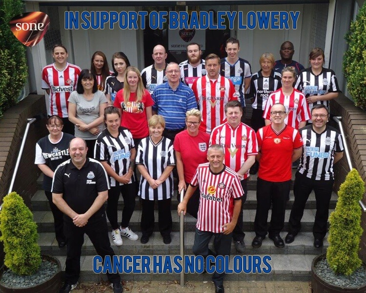 In support of Bradley Lowery's Fight