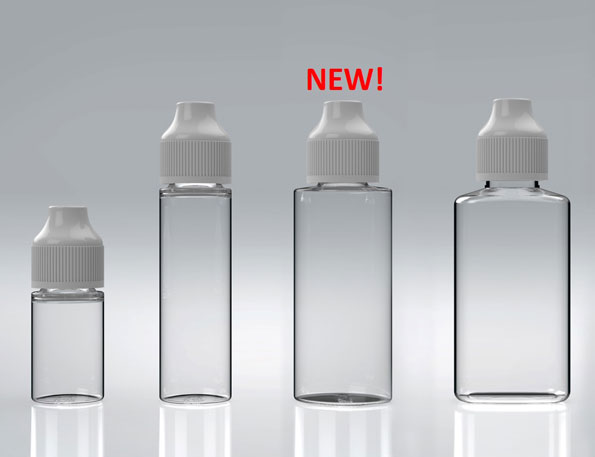 new 30ml and 60ml eliquid bottles